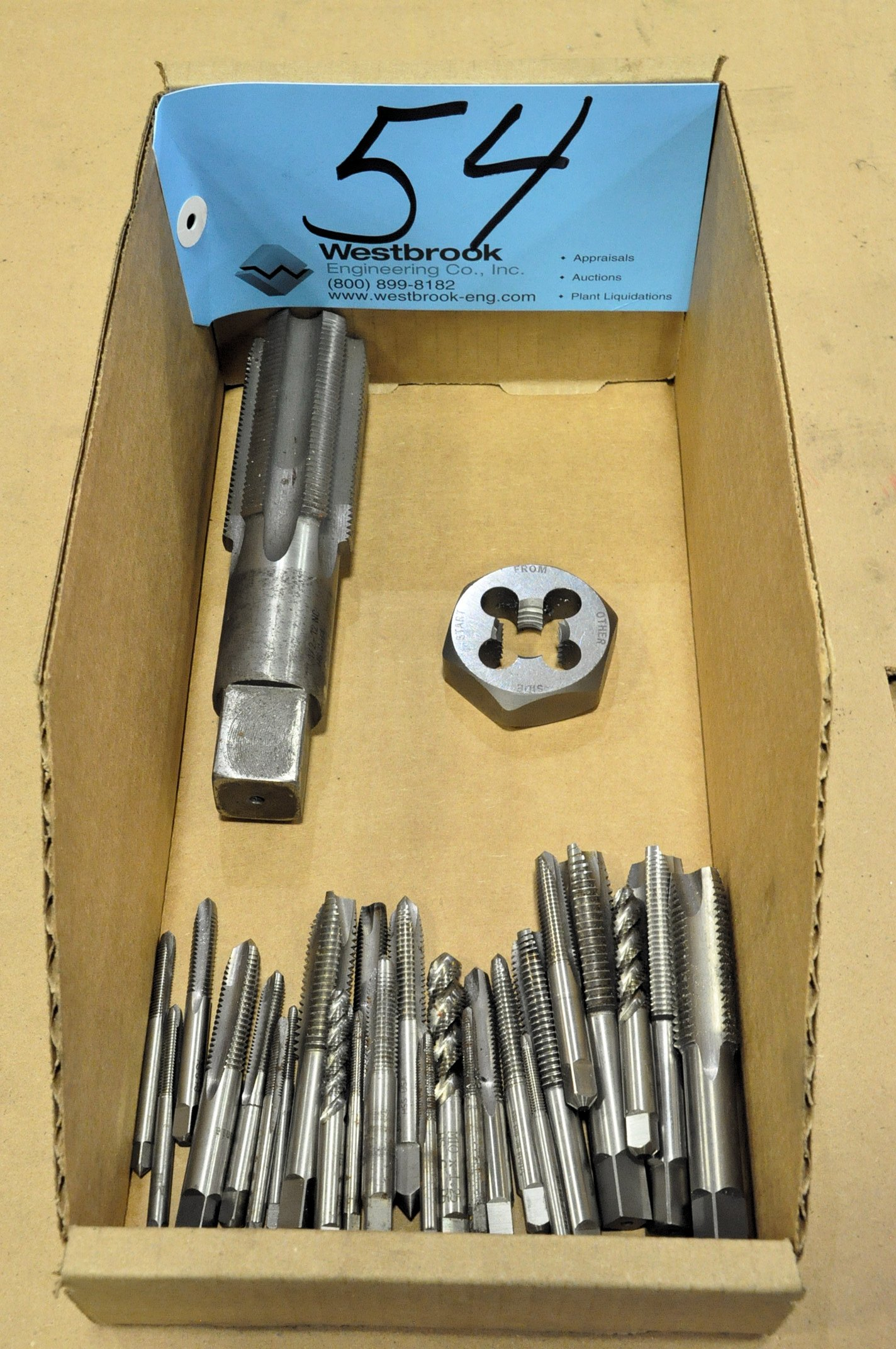 Lot-Taps and Dies in (1) Box