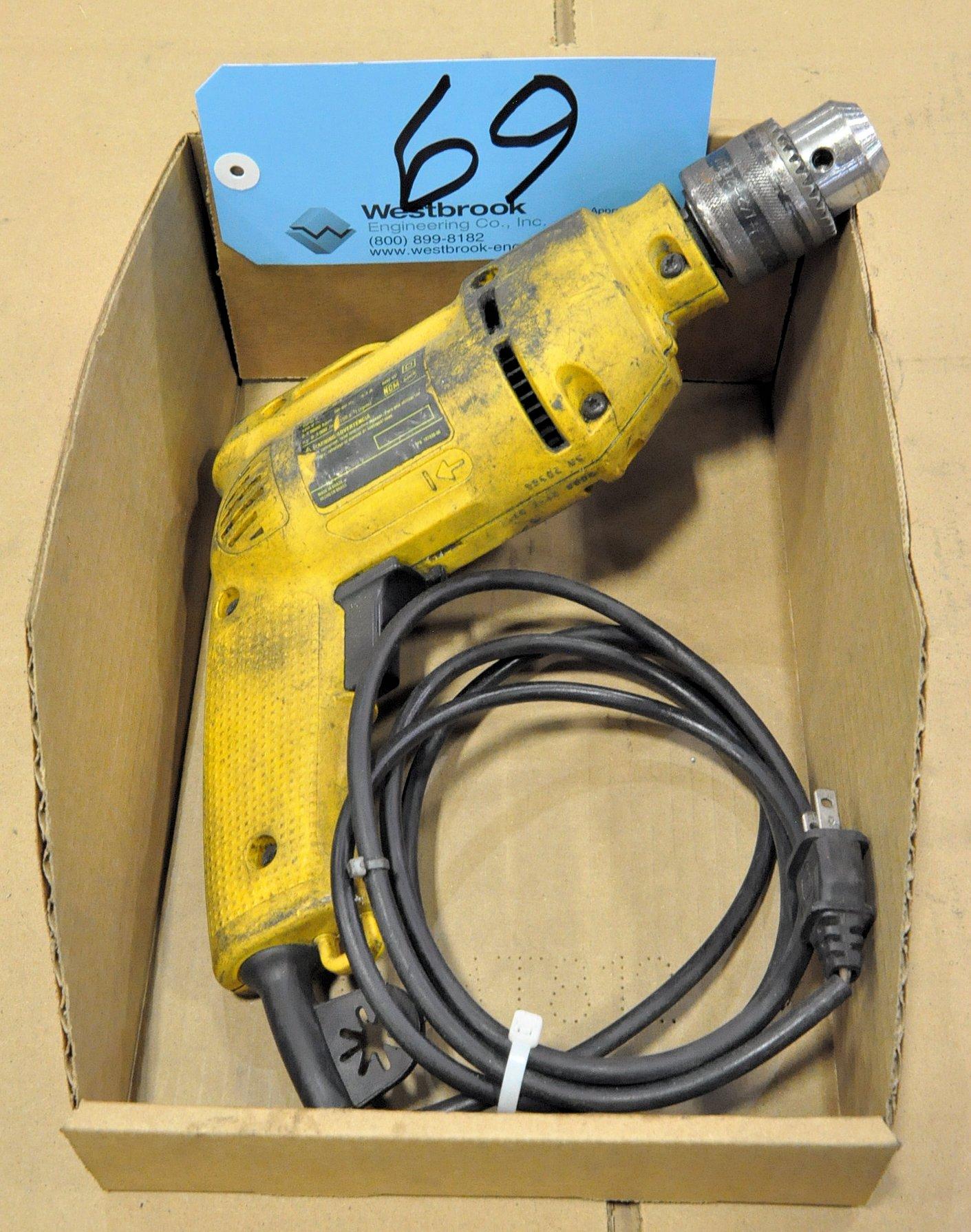 DeWalt DW502-B3, 1/2' Electric Drill in (1) Box