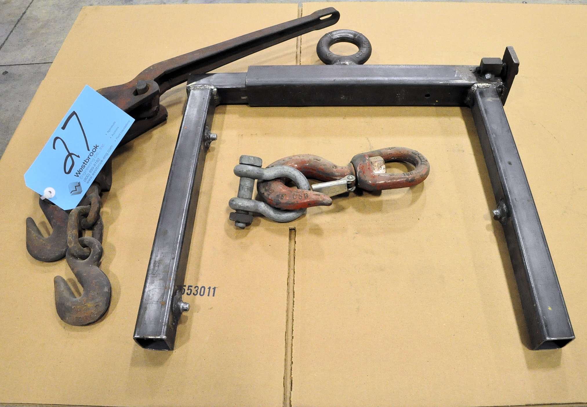 Lot-Chain Binder and Clevis with Hook