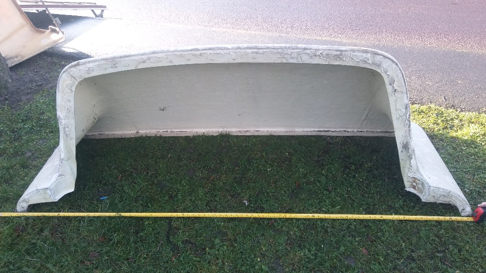 Lot 12 - Truck wind deflector for old Scania, Ford,