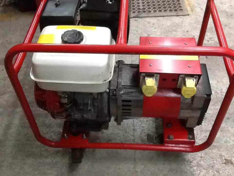 Lot 40 - Harrington Generator, 110 Volt, 4KW, working order. Stored near Beccles. No VAT on this item.