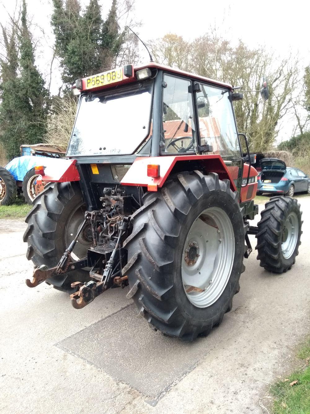 Lot 37 - Case IH 4230 tractor, 1996, Reg: P569 0BJ, diesel, 3,515 hours, V5, RFL expiry date: 01.08.