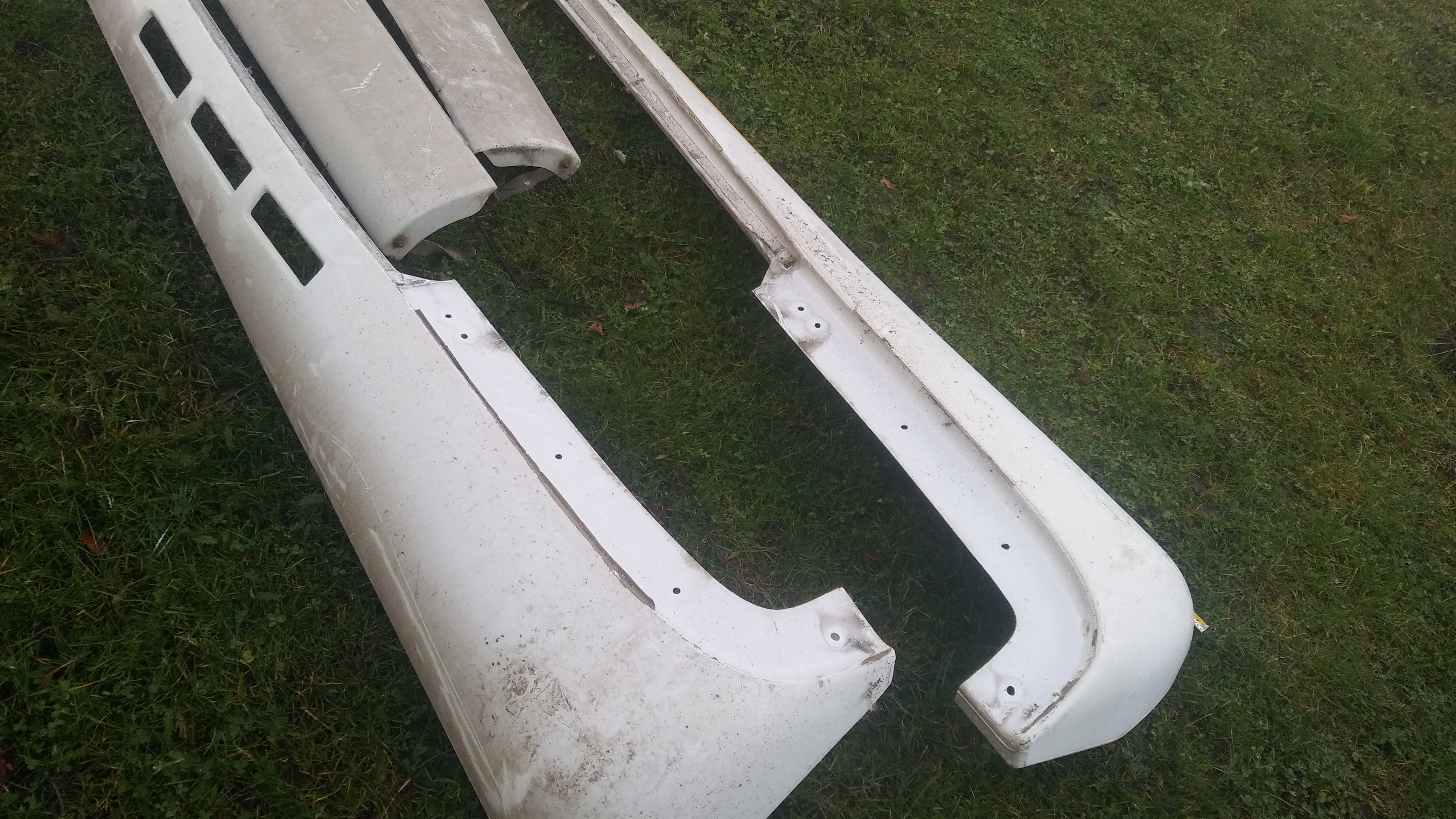 Lot 16 - Truck side deflectors Merc Atego/Man/Scania Stored near Newcastle upon Tyne No VAT on this item