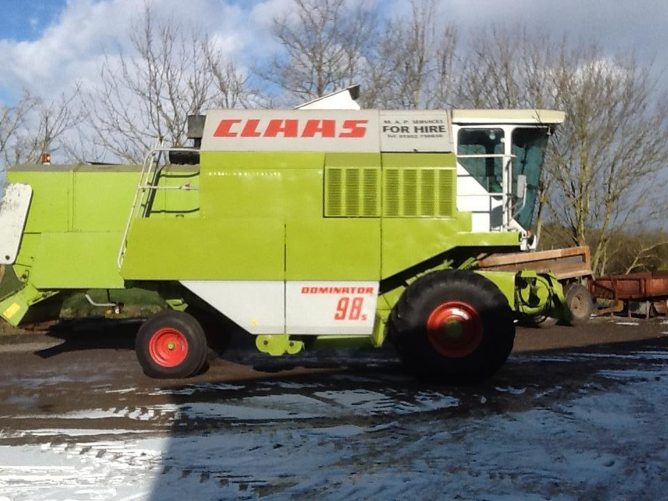 Lot 41 - CLAAS Dominator 98 S Combine, 1988, Reg: E436 WAH, Serial No: 09301053, diesel, 2,240 hours, V5,