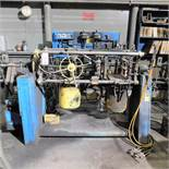 DEPENDABLE MODEL 400SA SHELL CORE MACHINE W/ HYDRAULIC SYSTEM & GAS SYSTEM