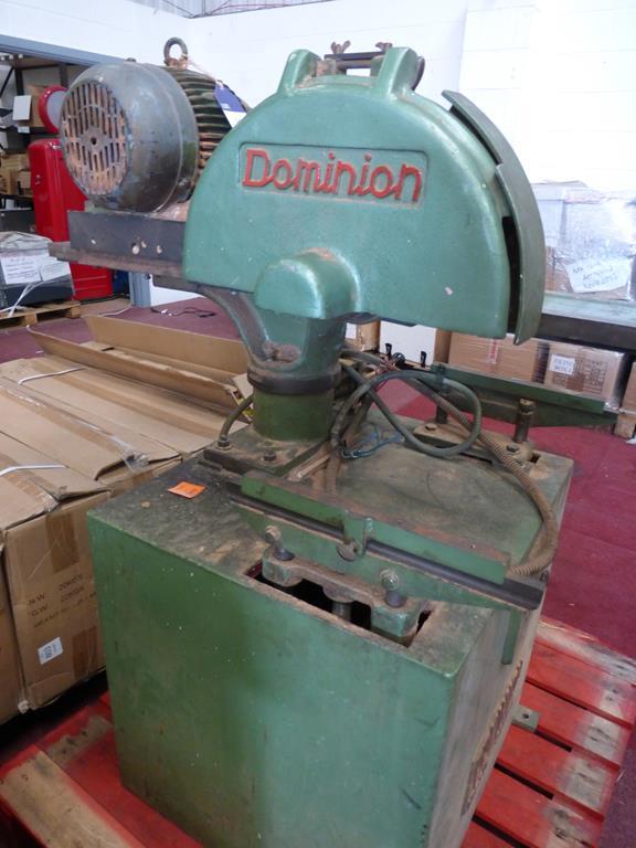 Lot 30 - Dominion Cross Cut Machine