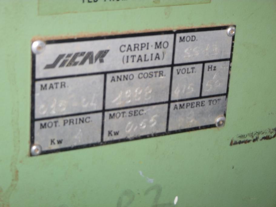 Lot 20 - Sicar Sliding Table Panel Saw