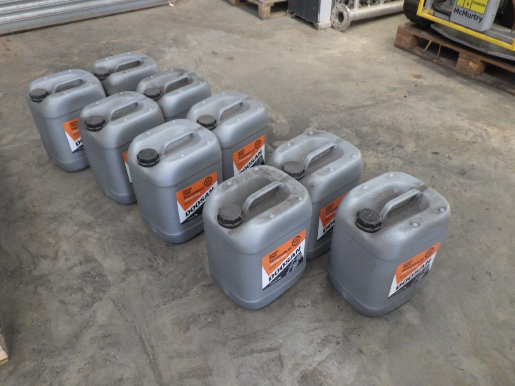 DOOSAN 10W30 (SAE 10W30) TRAX TRANSMISSION OIL HIGH PERFORMANCE FOR AXLES & TRANSMISSIONS, 20L - Image 4 of 4