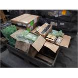 ASSORTED DOOSAN ELECTRICAL COMPONANTS INCL. WIRING HARNESS / LOOMS, SWITCHES, SENSORS & MORE.