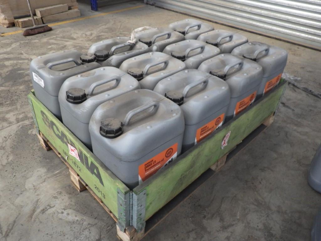 DOOSAN W90LS (SAE 80W90) DRIVE LS TRANSMISSION OIL HIGH PERFORMANCE FOR AXLES & TRANSMISSIONS, 20L