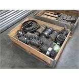 ASSORTED DOOSAN TRACK / UNDERCARRIAGE PARTS INCL. TOP & BOTTOM ROLLERS, SHOES / PADS INCL. P/N: