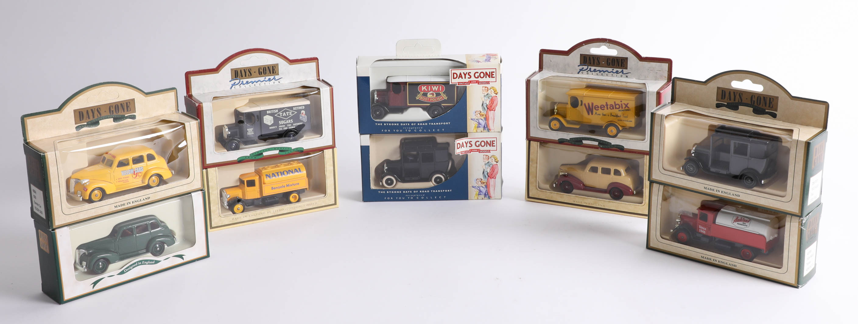 Thirty-eight 'Days Gone' diecast cars. (38)