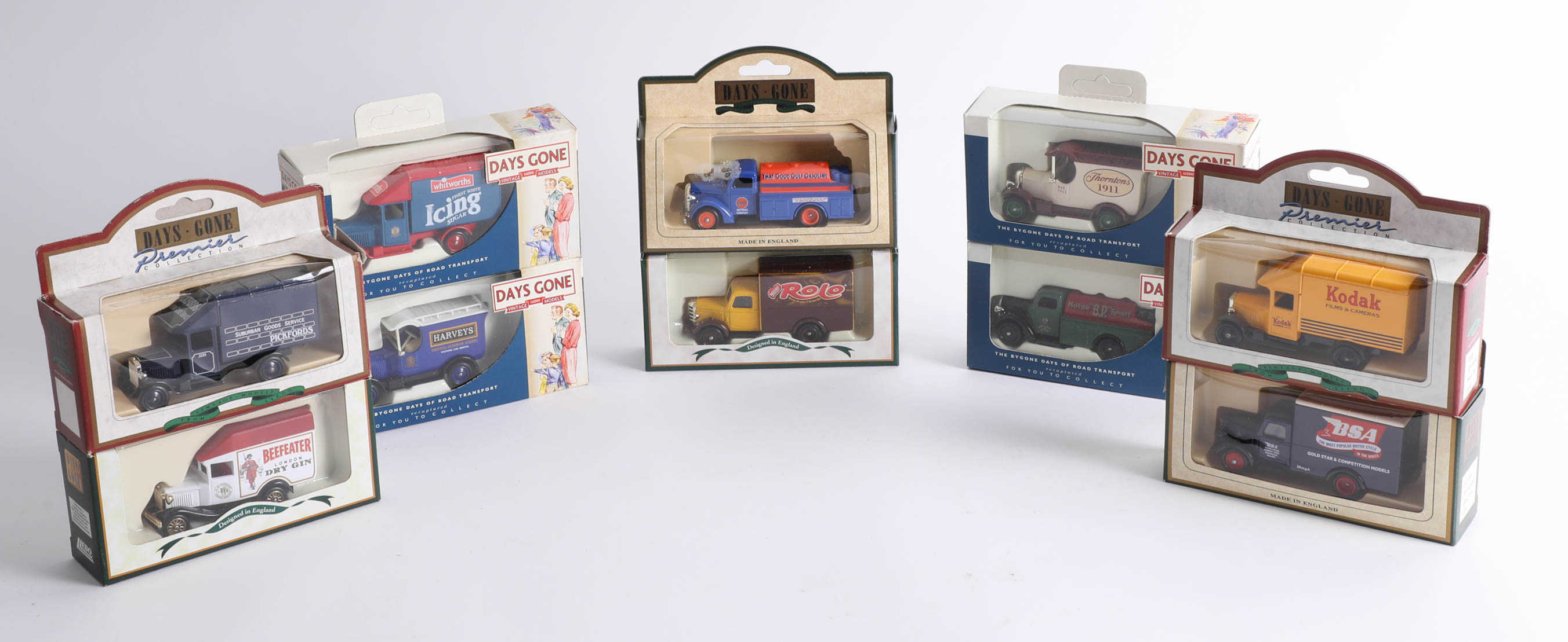 Forty-eight 'Days Gone' diecast cars. (48)