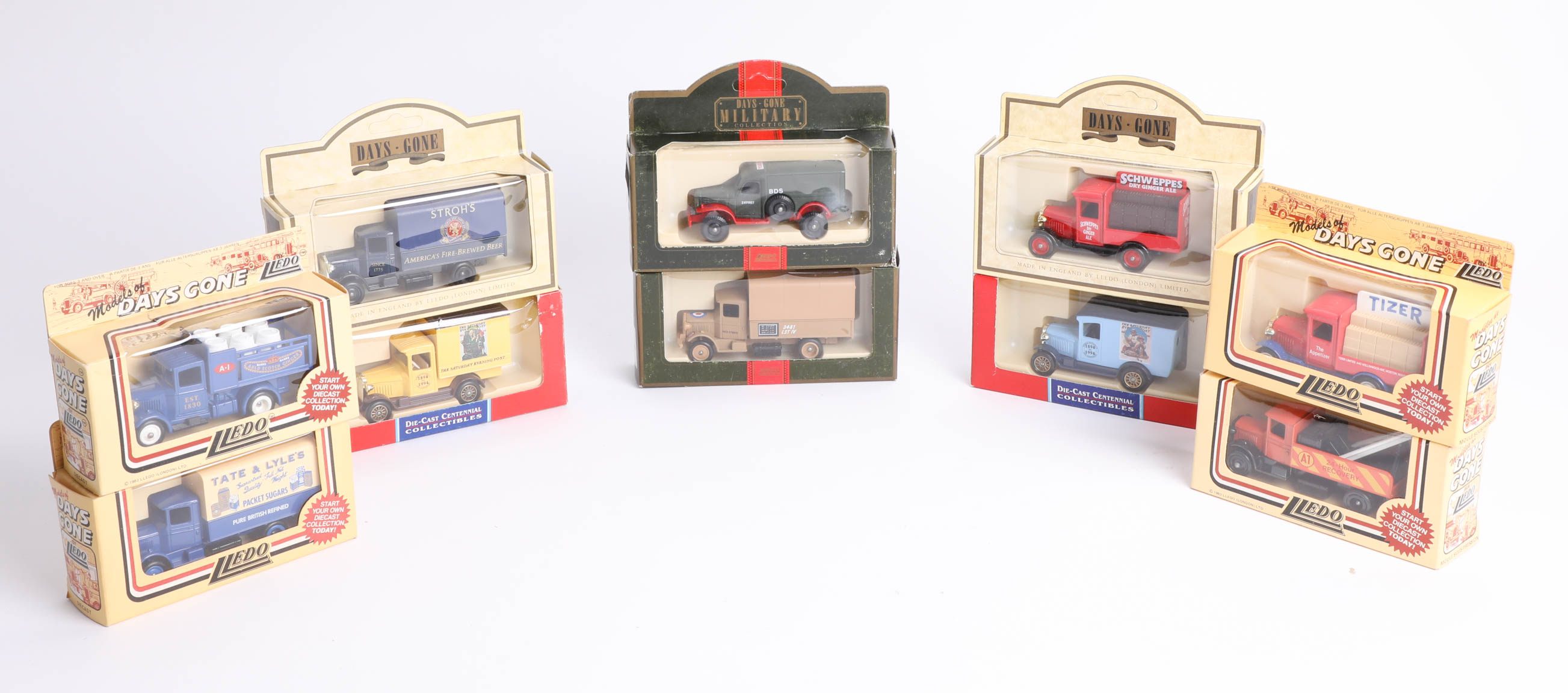 Sixty-one 'Days Gone' diecast cars and two 'Normal Rockwell's 100th Anniversary' diecast cars. (63)