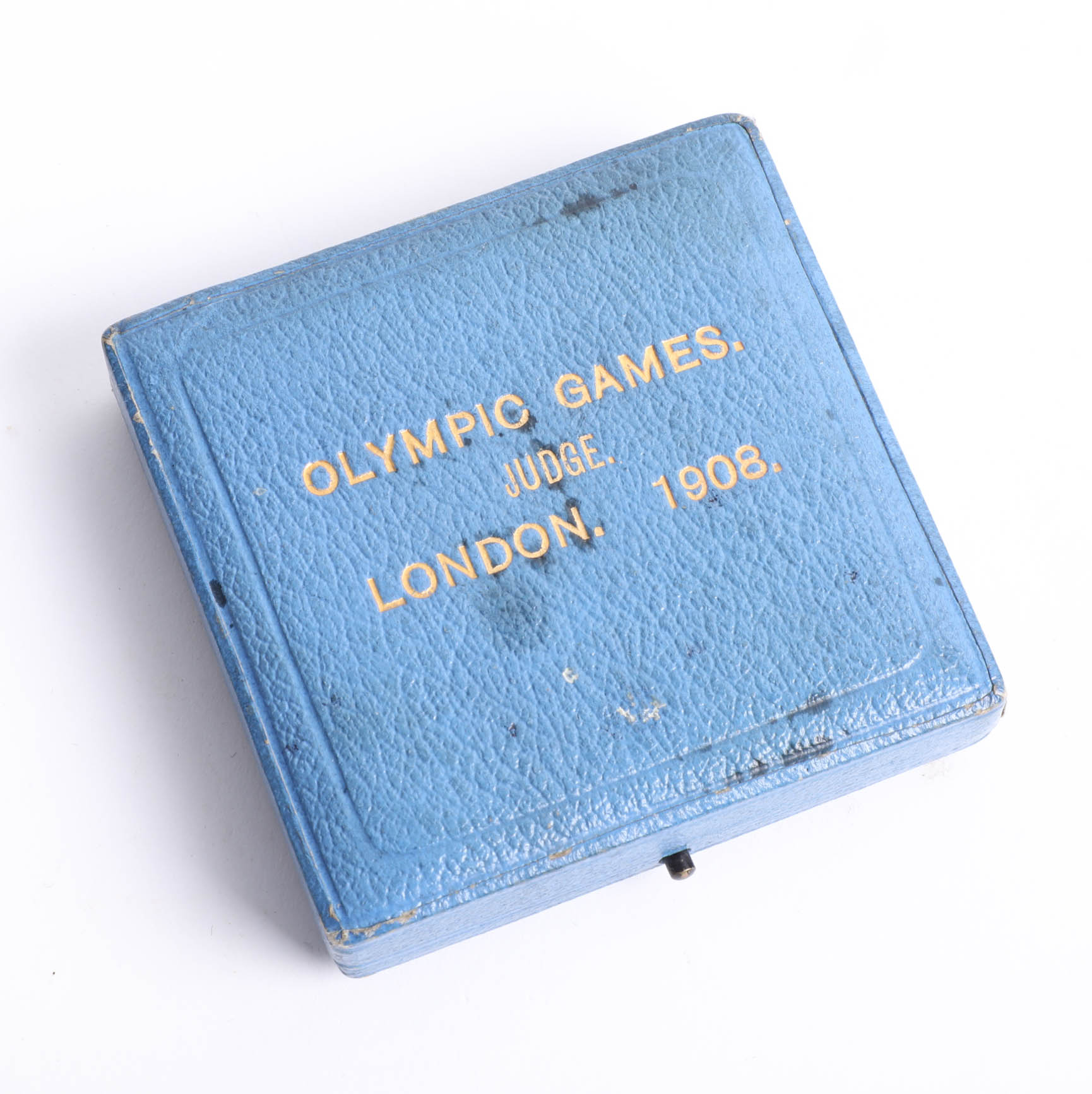 A London Olympics 1908 Judge`s commemorative medal by P. Vaughton, the obverse depicting 'Flame'