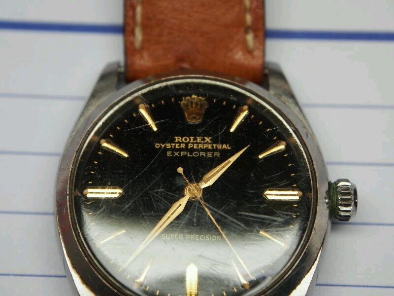 1958 Rolex Air King With Explorer Dial Model Number 5500