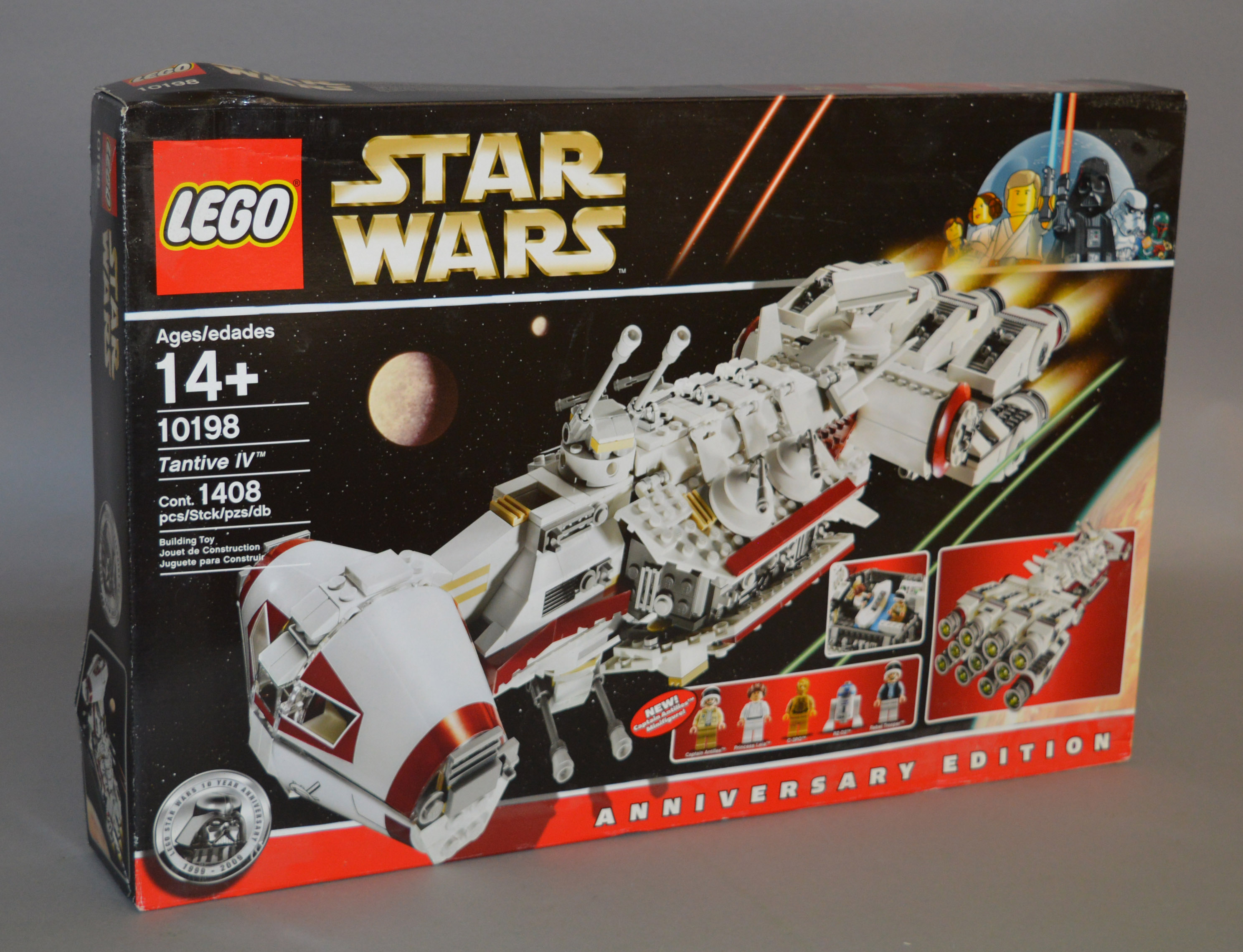 Lot 44 - Lego Star Wars 10198 'Tantive IV', sealed in generally G/G+,