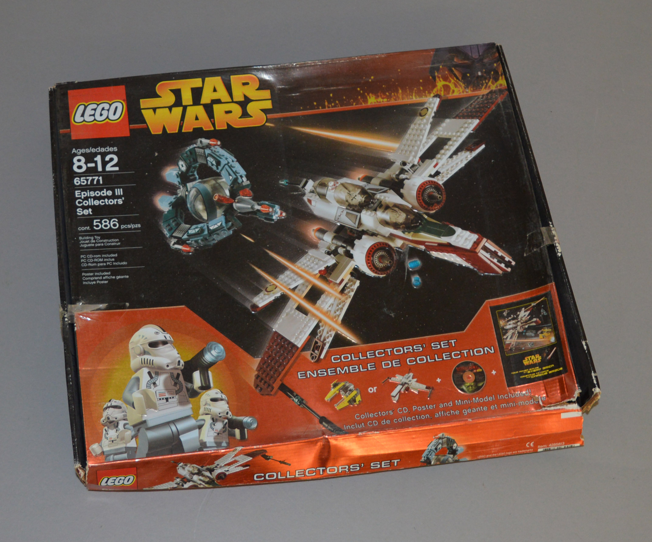 Lot 31 - Lego Star Wars 65771 'Episode III Collectors' Set', in generally F, somewhat dusty box,