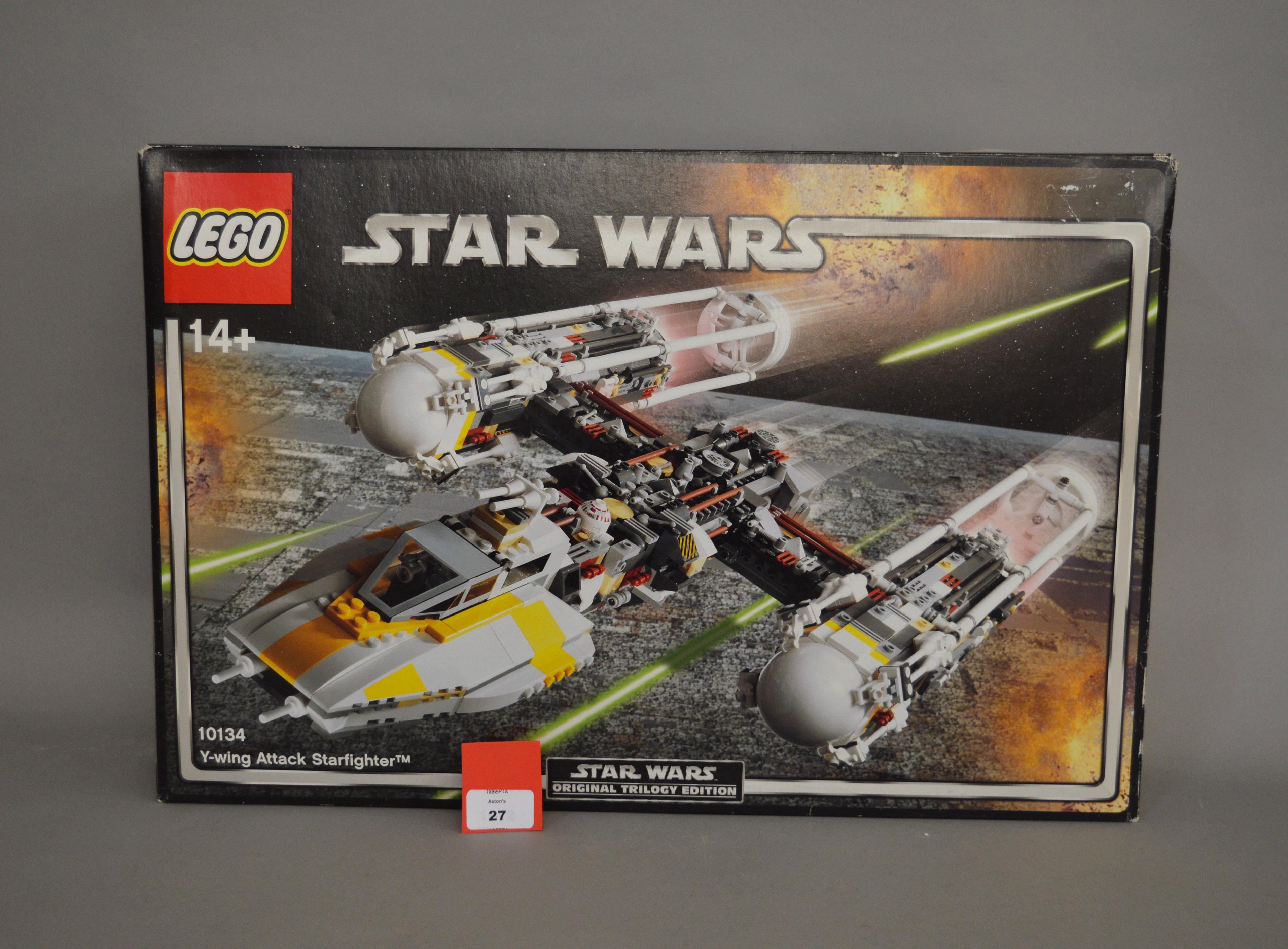 Lot 27 - Lego Star Wars Original Trilogy Edition 10134 Y-wing Attack Starfighter.