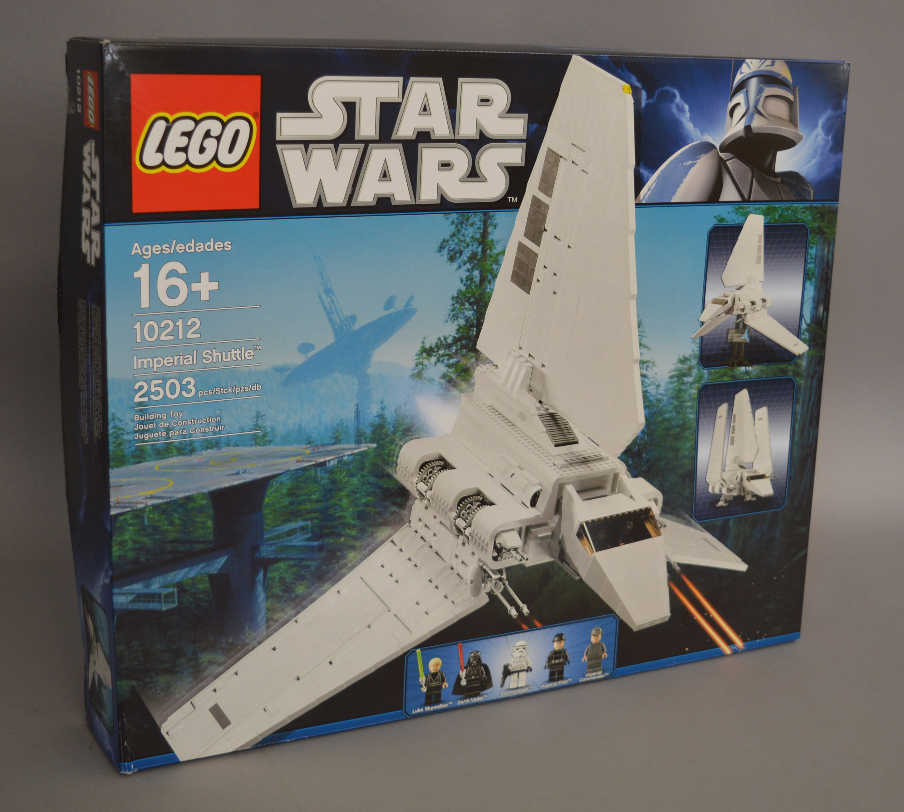 Lot 43 - Lego Star Wars 10212 'Imperial Shuttle', sealed in G+ box.