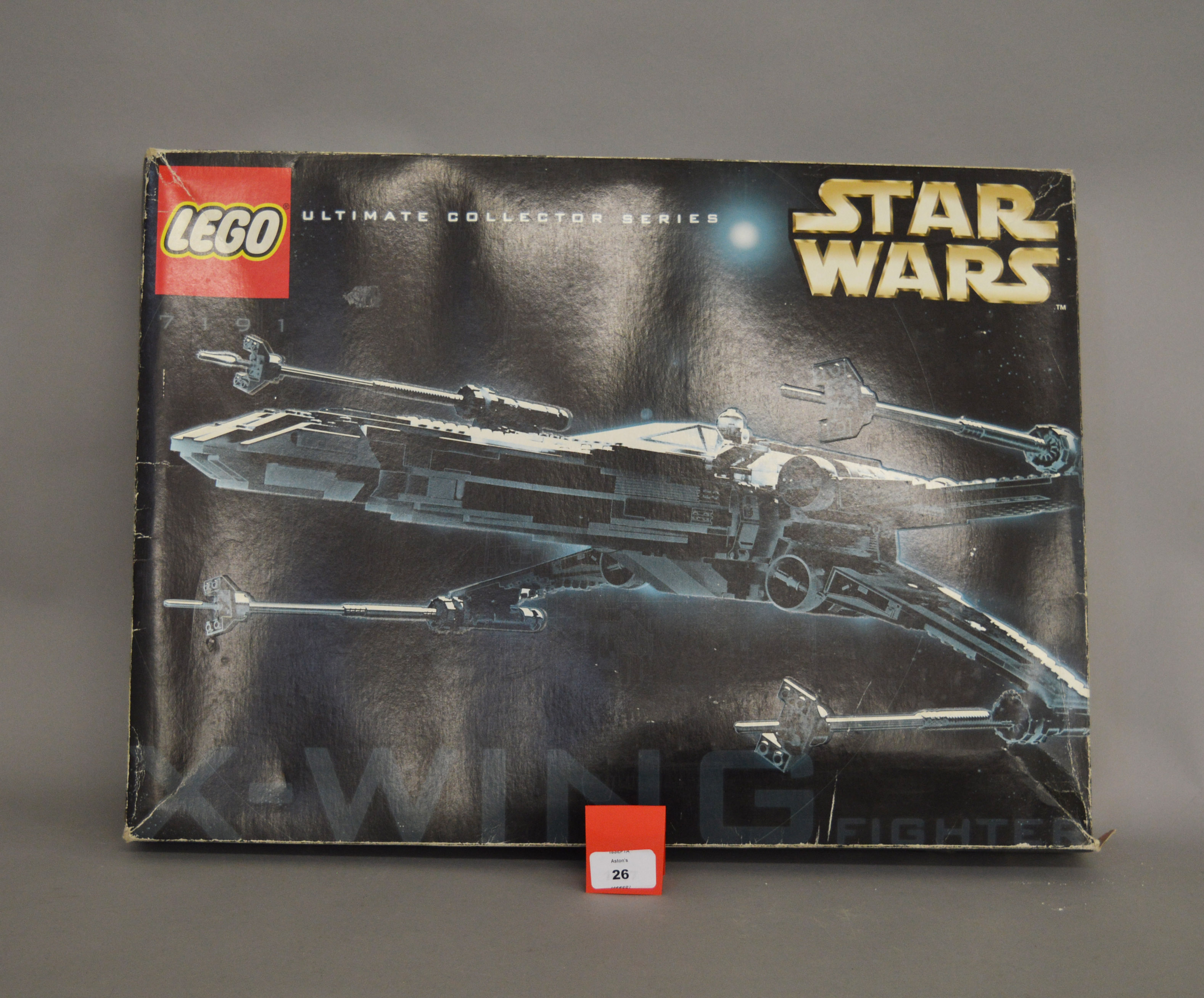 Lot 26 - Lego 7191 Ultimate Collector Series X-wing Fighter. Boxed, unchecked for completeness.