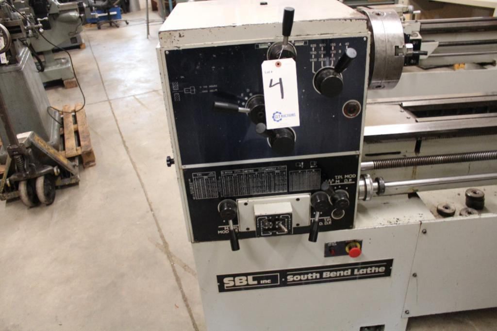 "Lot 4 - South Bend Lathe CS44 18"" x 64"" Gap Bed Engine Lathe"