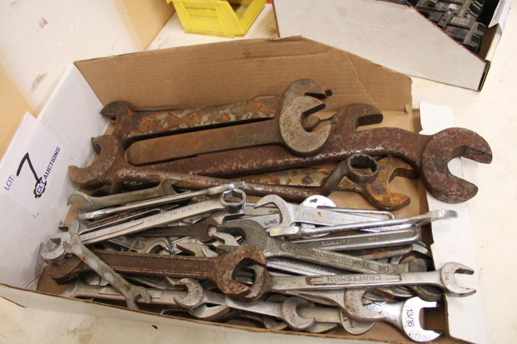 Lot 7 - Machine Wrenches
