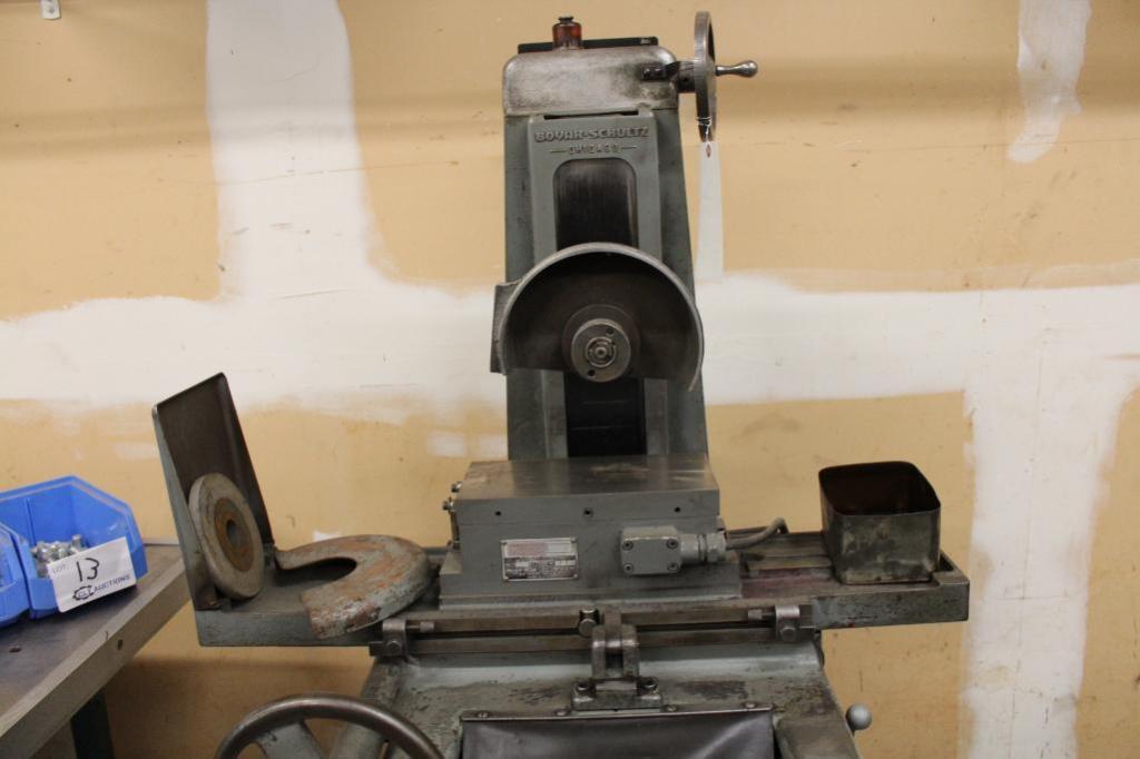 Lot 12 - Boyer Schultz 612 1PH hand feed surface grinder