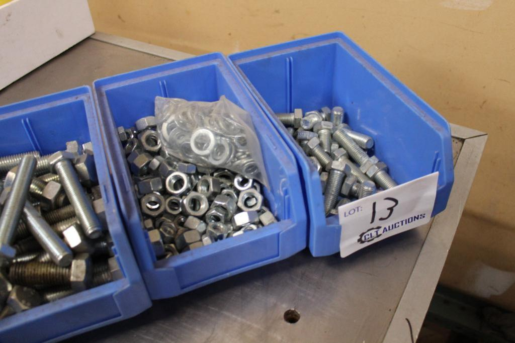 Lot 13 - Stainless nuts and bolts