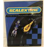 Scalextric hardback book by Rod Green - The Story of the World's Favourite Model Racing Cars.