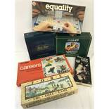 A collection of 6 boxed c1970-80's board games.