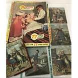 "A vintage set of 4 Spears Zig-Zag puzzles for children ""Little Hollanders""."