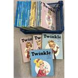 20 vintage Twinkle Annuals from 1971 to 1992.