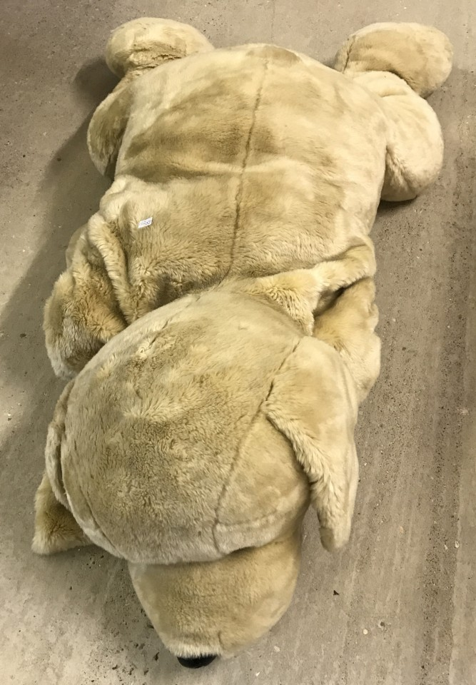 Lot 152 - A very large soft toy Dog.