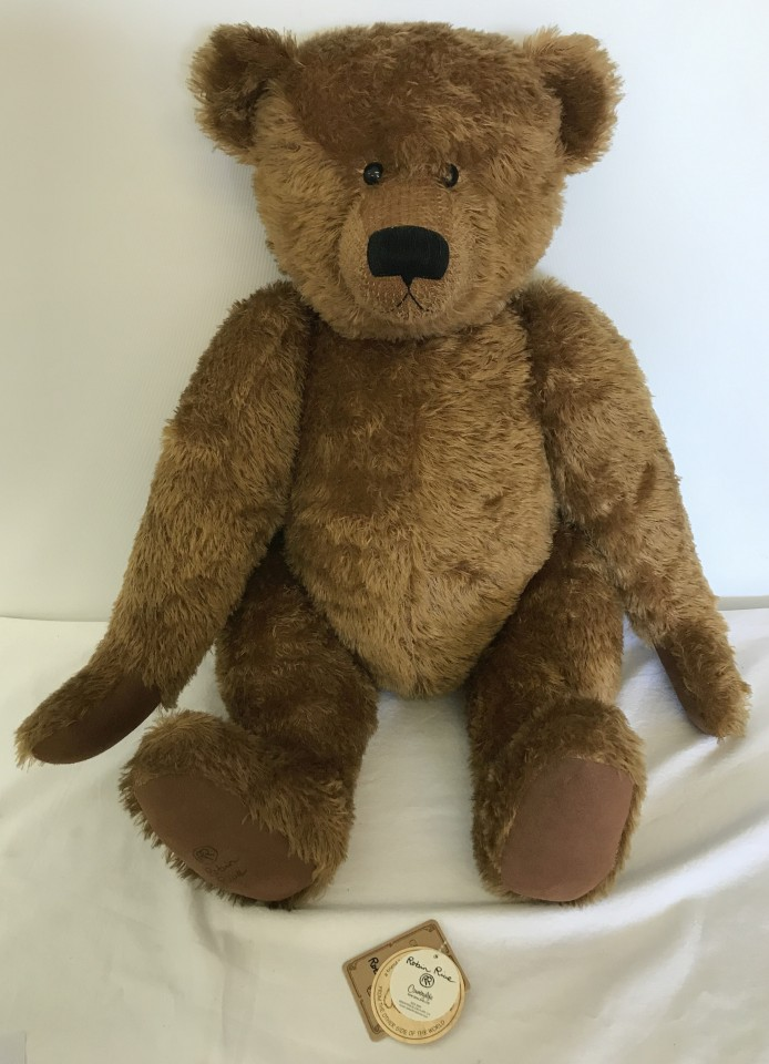 Lot 130 - A Limited edition Big Brown Bear by Robin Rive.