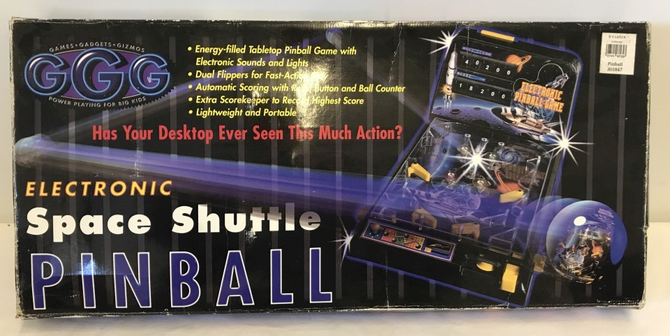 Lot 42 - Space Shuttle Pinball electronic game by GGG.