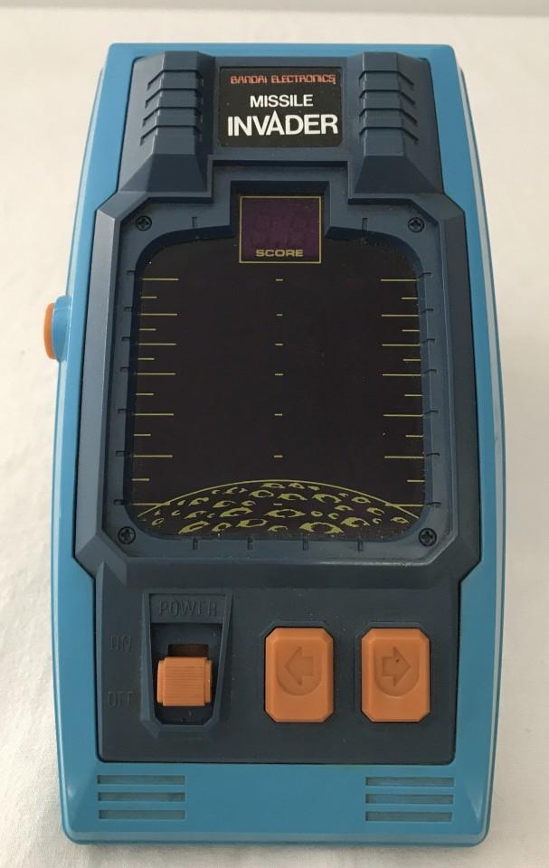 Lot 30 - Bandai Electronics Missile Invader hand held game.