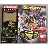 A boxed Carrera Go Marvel Heroes Racer set.