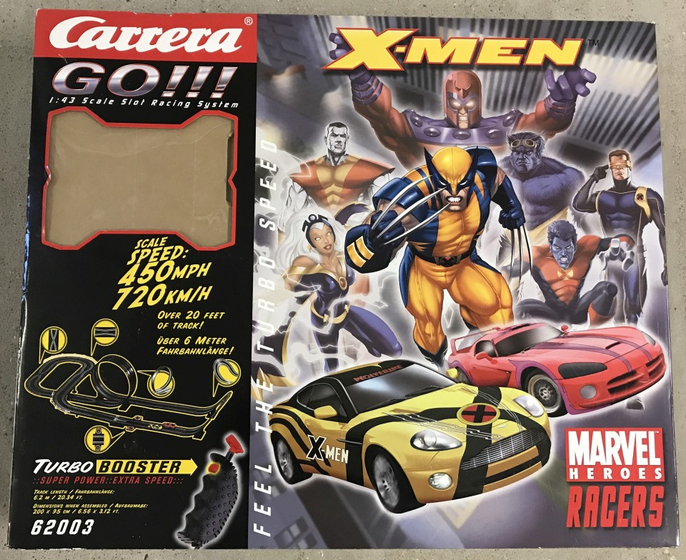 Lot 5 - A boxed Carrera Go Marvel Heroes Racer set.