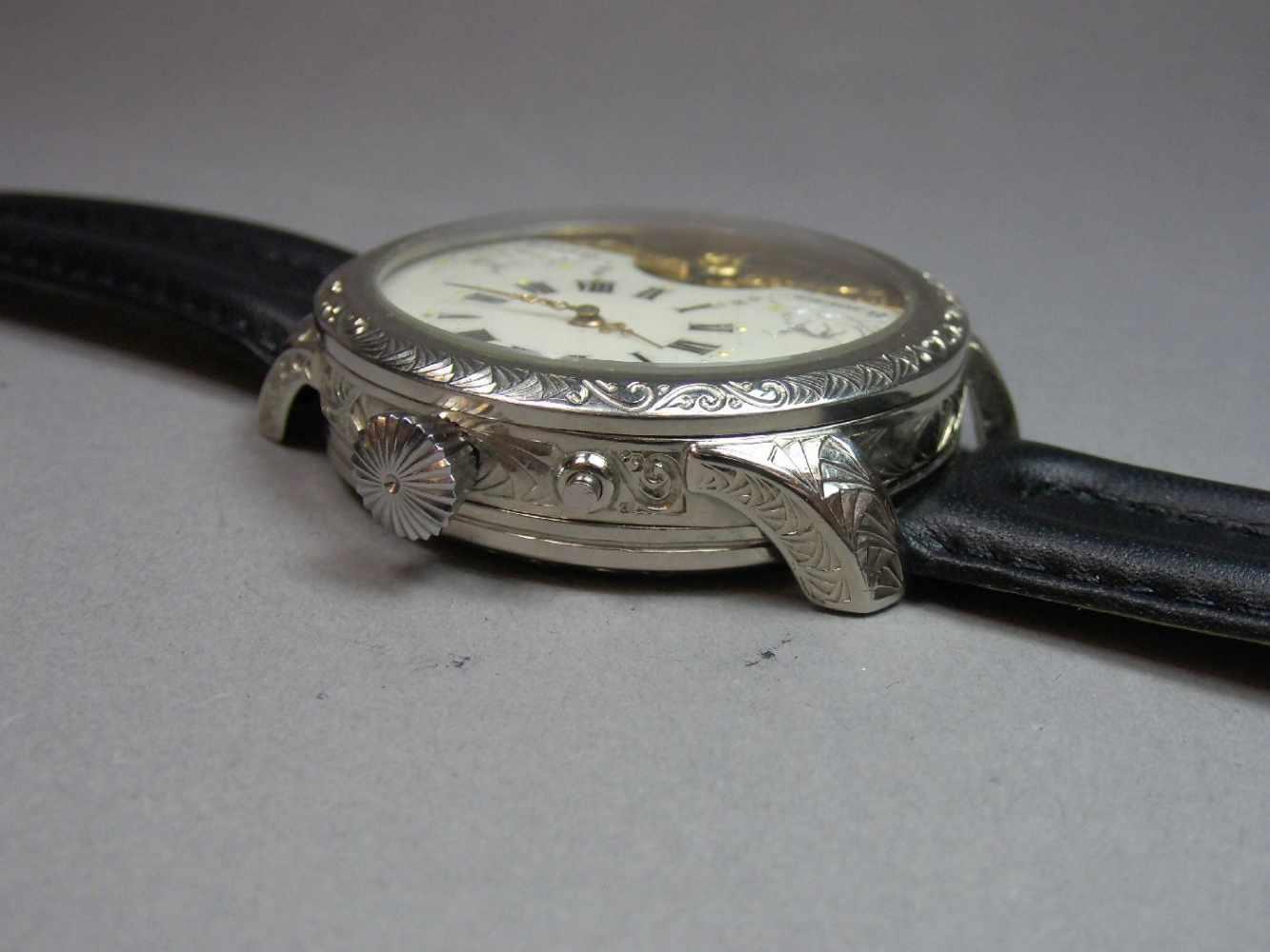 Lot 49 - ARMBANDUHR / MARIAGE / wristwatch, 20. Jh., Handaufzug (Krone & Drücker). Französisches 8-Tage-