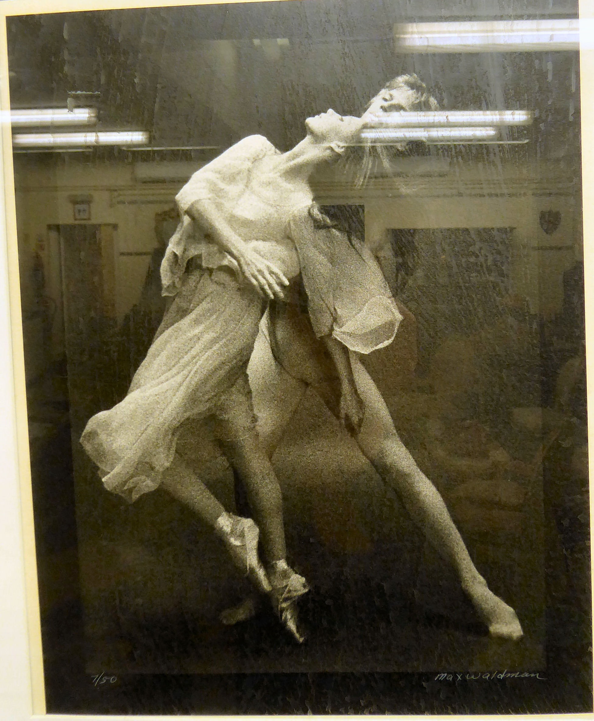 Lot 11 - Max Waldman - 'Chaconne' and another ballet studies with Susanne Farrell and Peter Martin Limited