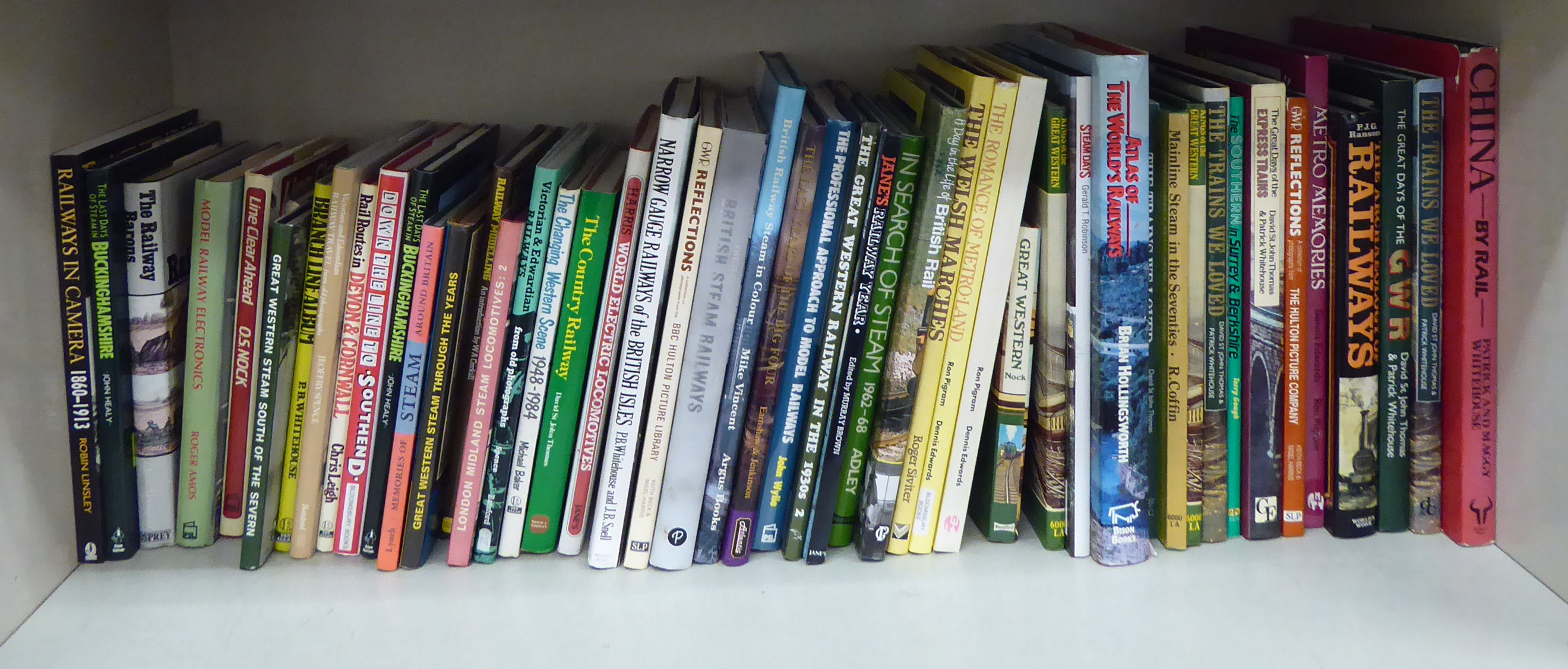 Lot 59 - Books: mainly railway and related subjects OS2
