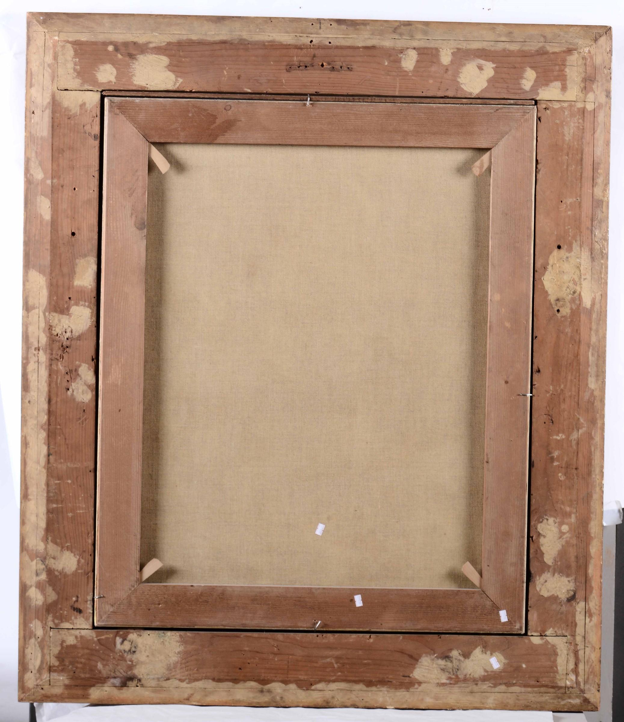 Scuola veneta dell'inizio del XVII secolo, Ritratto di gentildonna con filo di perle [...] - Bild 2 aus 2