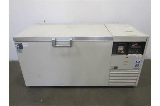 Sanyo 135 C Ultra Low Temperature Chest Freezer Make Model