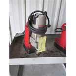 Lot 1 - ELECTRIC MAGNETIC BASE DRILL PRESS, MILWAUKEE, S/N 0059825471