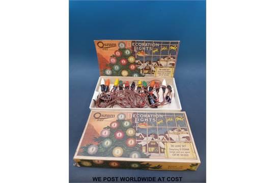 Previous - A Boxed Set Of Vintage Osram Christmas Lights Circa 1950's