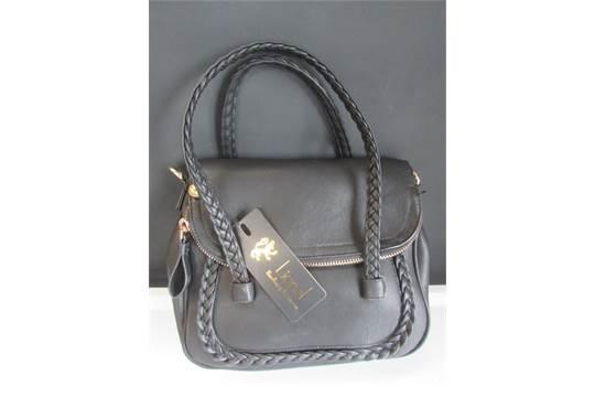 7e081c446abd Lionel Handbags Black Yorke Crossover Bag