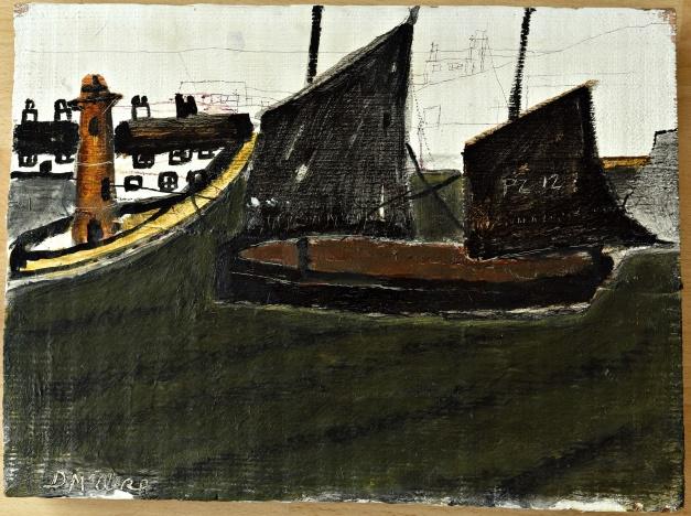 Lot 36 - Artist: Daphne McClure Title PZ12 Size 29.5 x39 x 3.