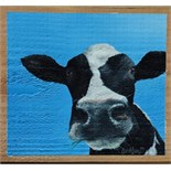 Lot 25 - Artist: Sarah Lean Title: Lowenna Size: 30 x 27 x 2cm Medium: Acrylic Sarah Lean Sarah Lean is a