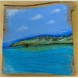 Lot 27 - Artist: Kim Potter Title: Porth Bal Size: 29 x 30 x 2cm Medium: Acrylic Kim Potter Kim's artistic